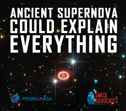 Ancient supernova