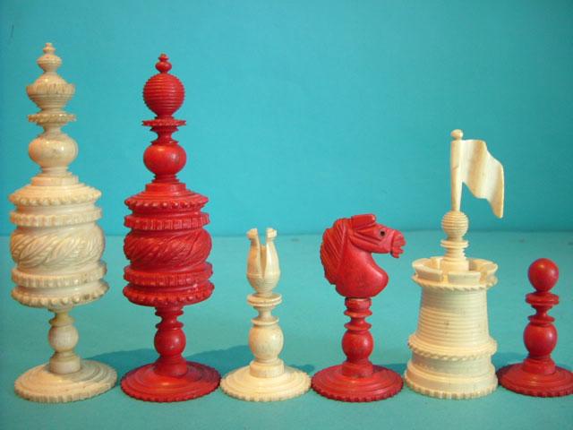 Barleycorn chess set