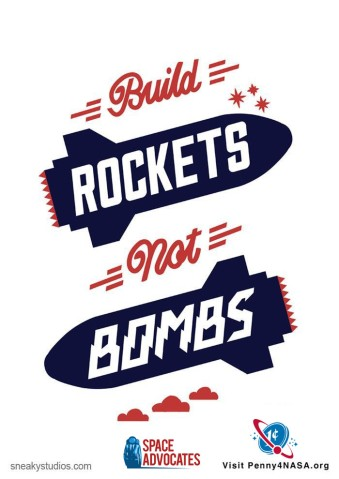 Rockets not bombs