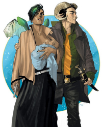 Saga 1 cover by Fiona Staples