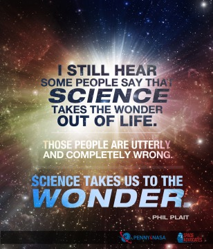 Science takes us to the wonder
