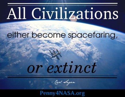 Spacefaring or extinct