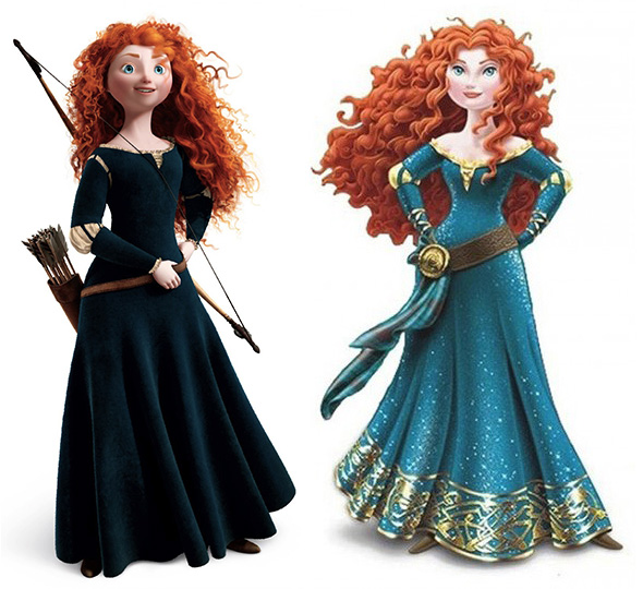 Princess Merida - Sassy or sexy?