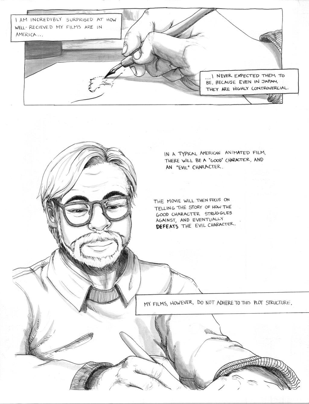Philosophy of Hayao Miyazaki comic