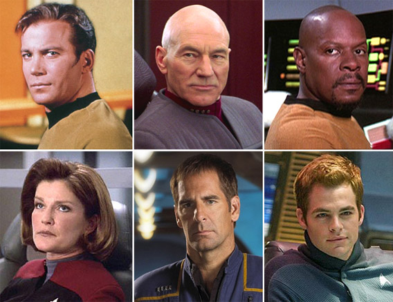 Star Trek's Captains