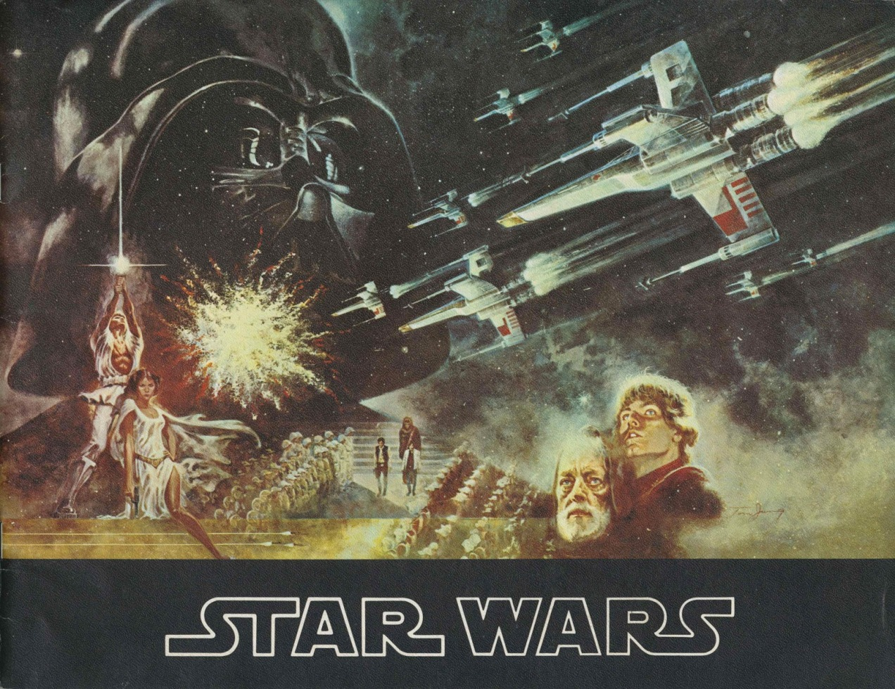 Star Wars souvenir program 1977