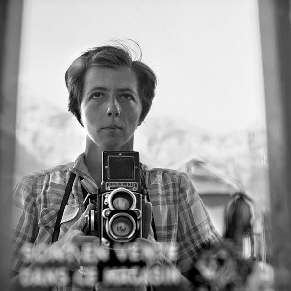 Vivien Maier self portrait