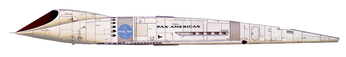 Pan Am Orion Space Plane
