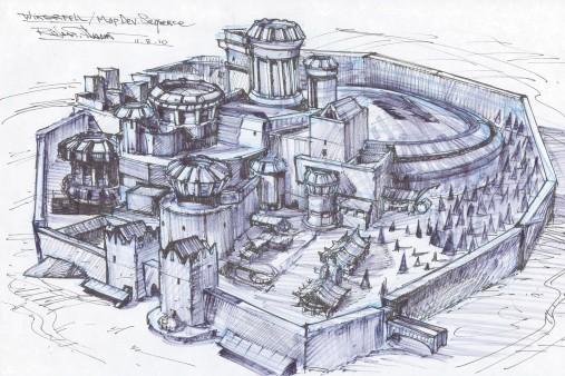 Winterfell sketch
