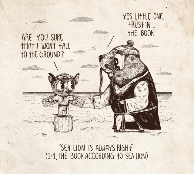 an illustrated book of bad arguments sockrotation