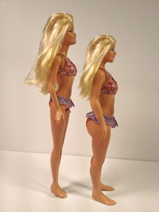 Real Barbie - side
