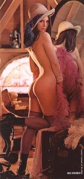 The original Lena Soderberg centerfold in the November 1972 issue of Playboy