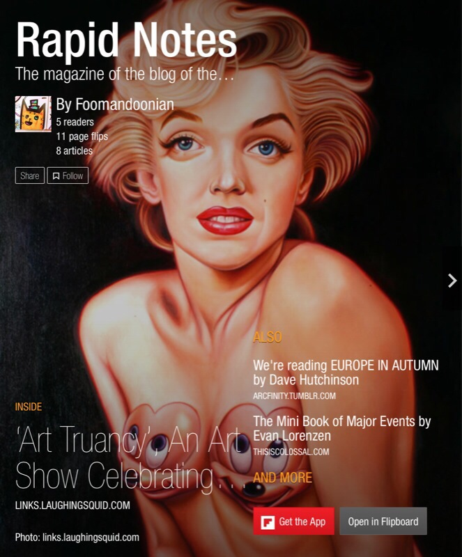 Rapid Notes magazine