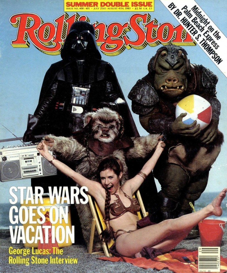 Carrie Fisher - Rolling Stone