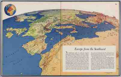 Europe from the southwest - Richard Edes Harrison