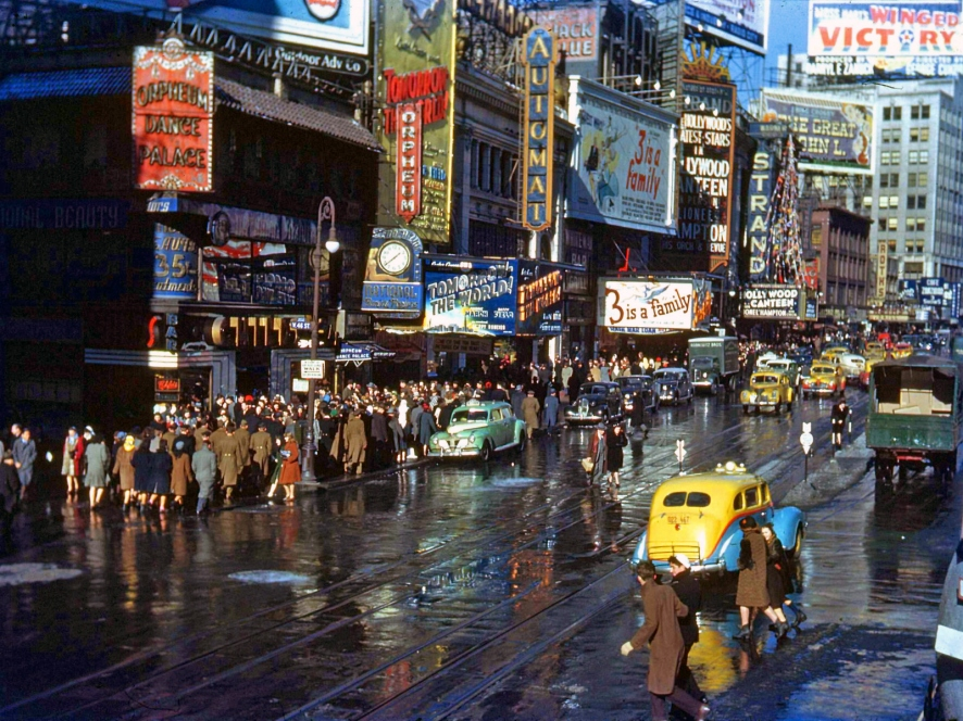 New York, 1944