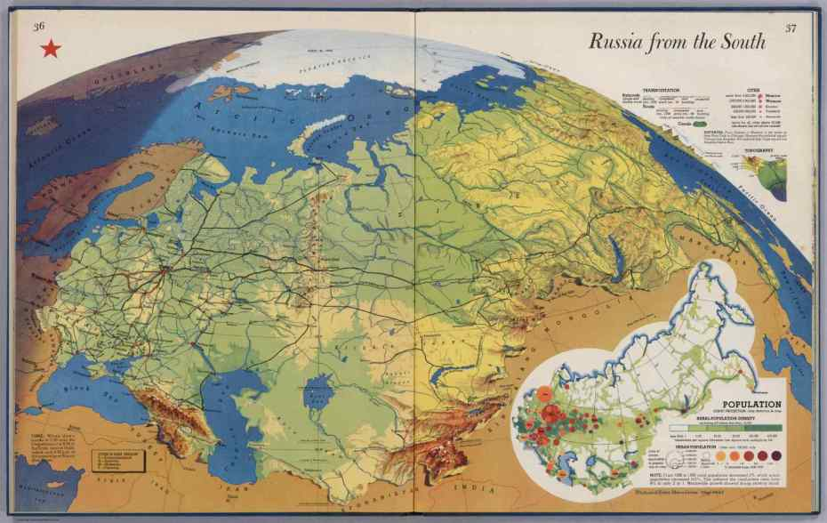 Russia from the south