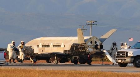 USAF X-37B landing