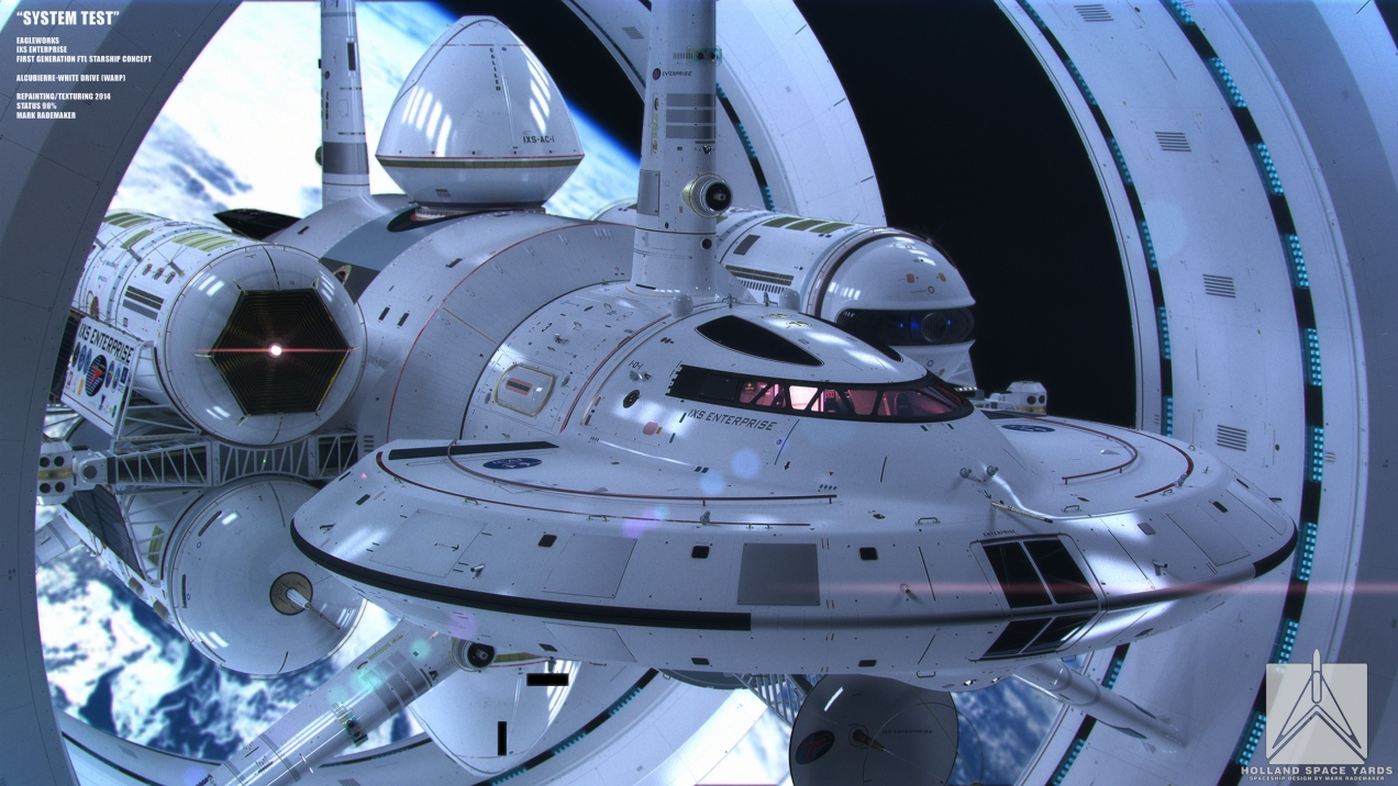 NASA's design for a warp drive ship! | Rapid Notes