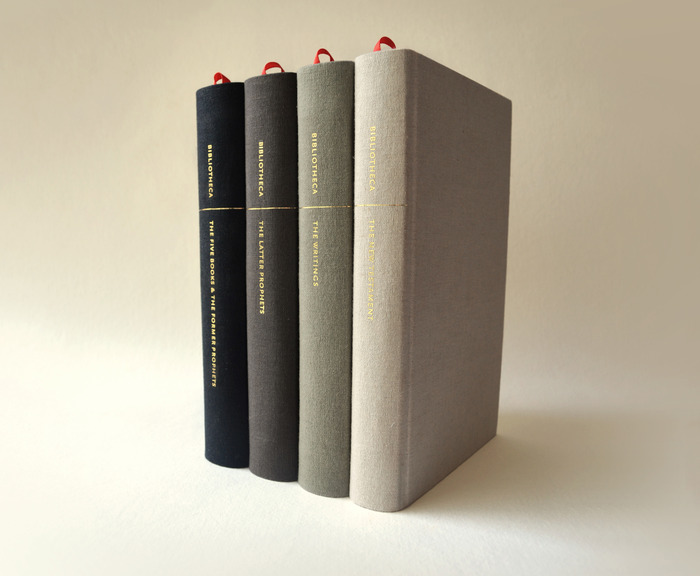 All four Bibliotheca volumes