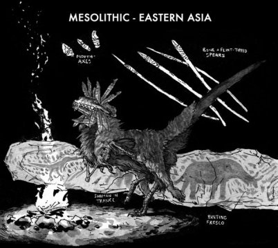 Mesolithic - Eastern Asia