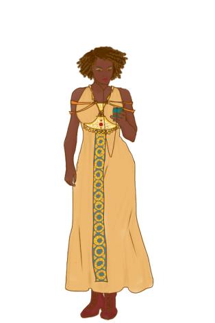 Solarpunk - lady