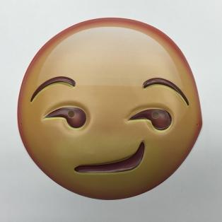 Sly Guy emoji mask