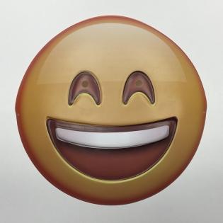 Smile emoji mask