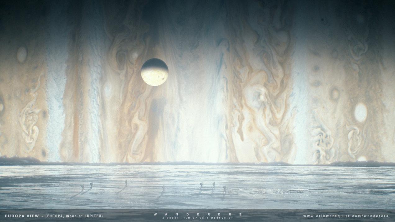 Europa - Jupiter