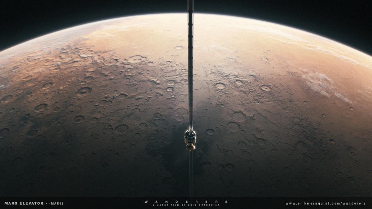 Mars Elevator