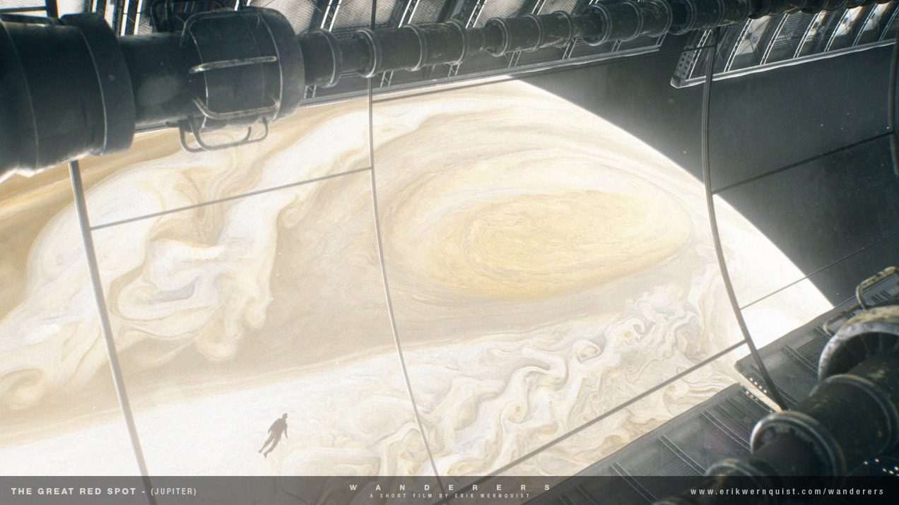 Jupiter - The Great Red Spot