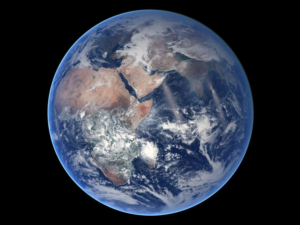 Blue marble 2014
