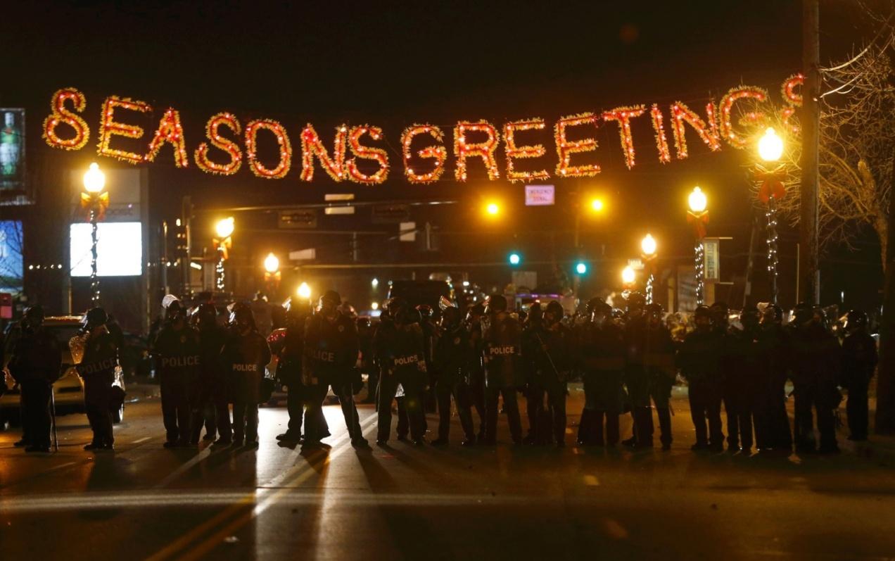 Seasons Greetings in Ferguson