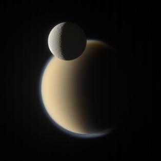 Titan - Rhea Mutual