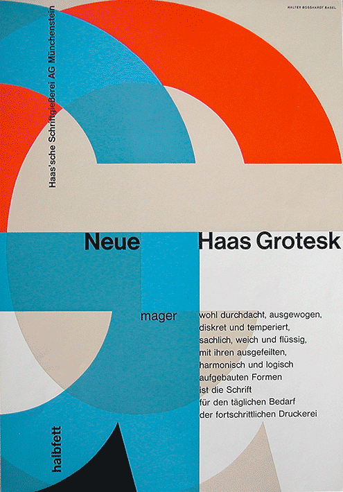 Neue Haas Grotesk leaflet