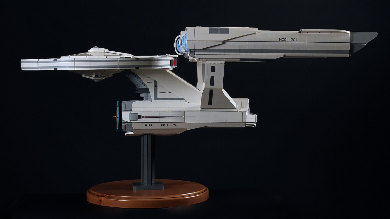 LEGO Enterprise - side