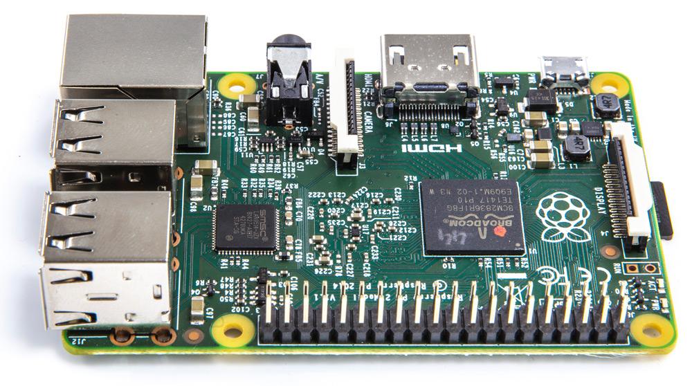Raspberry Pi 2 board