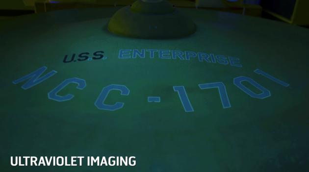 USS Enterprise UV image