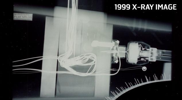 USS Enterprise x-ray