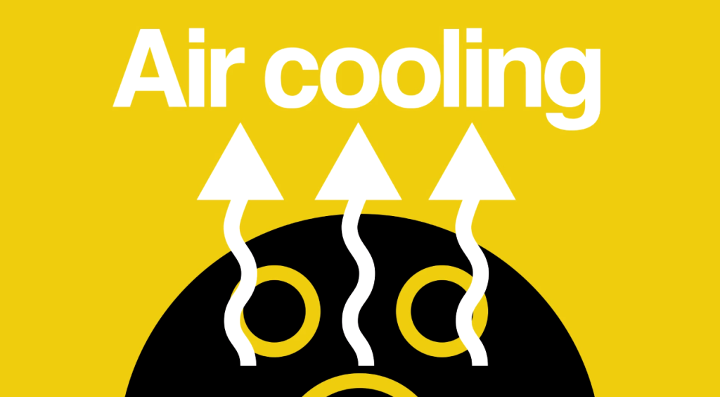 Ahoy - Air cooling