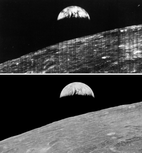 Earthrise restored