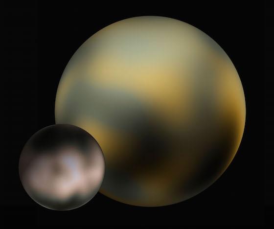 Pluto before