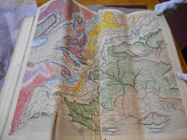Rediscovered William Smith map