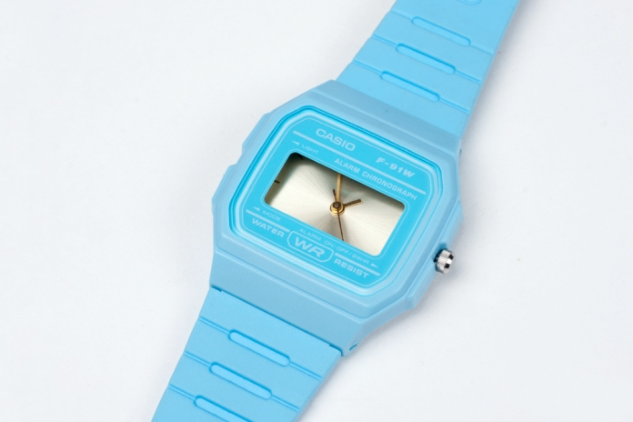 Casio F-91W Rework - Blue