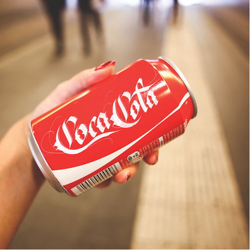 Brand by Hand - Coca Cola