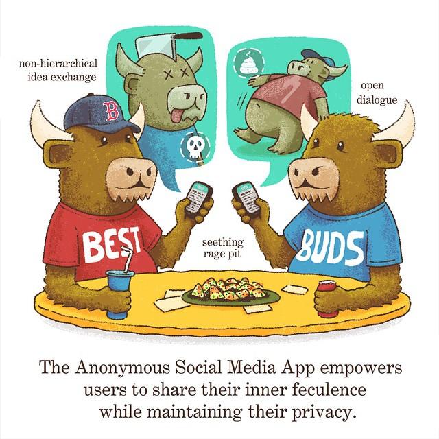 The Anonymous Social Media App