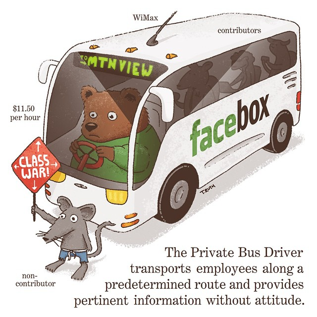 The Private Bus Driver