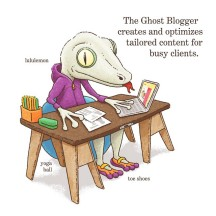 The Ghost Blogger