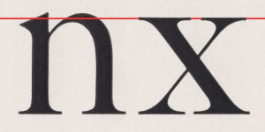 Caslon No. 540, American Type Founders 1906