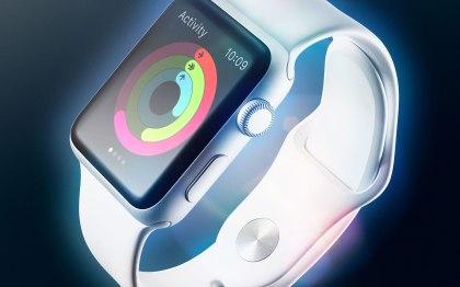 White Apple Watch